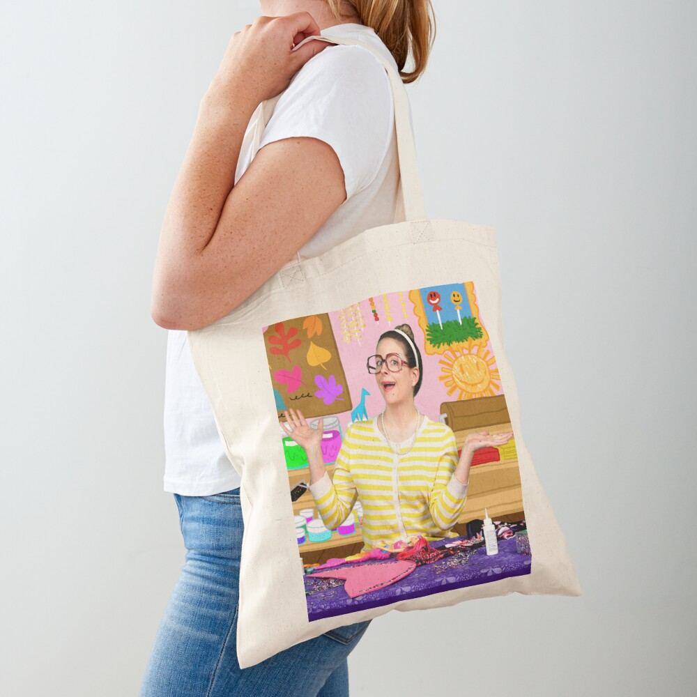 Crafty Carol Arts Camp Cool School  Tote Bag