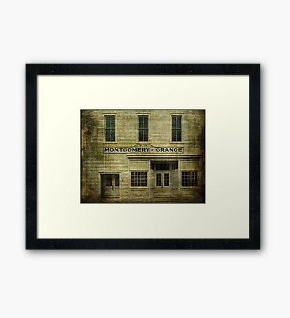 Montgomery Grange Framed Print