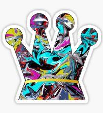 Graffiti crown Sticker