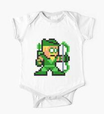8-bit Green Arrow Kids Clothes