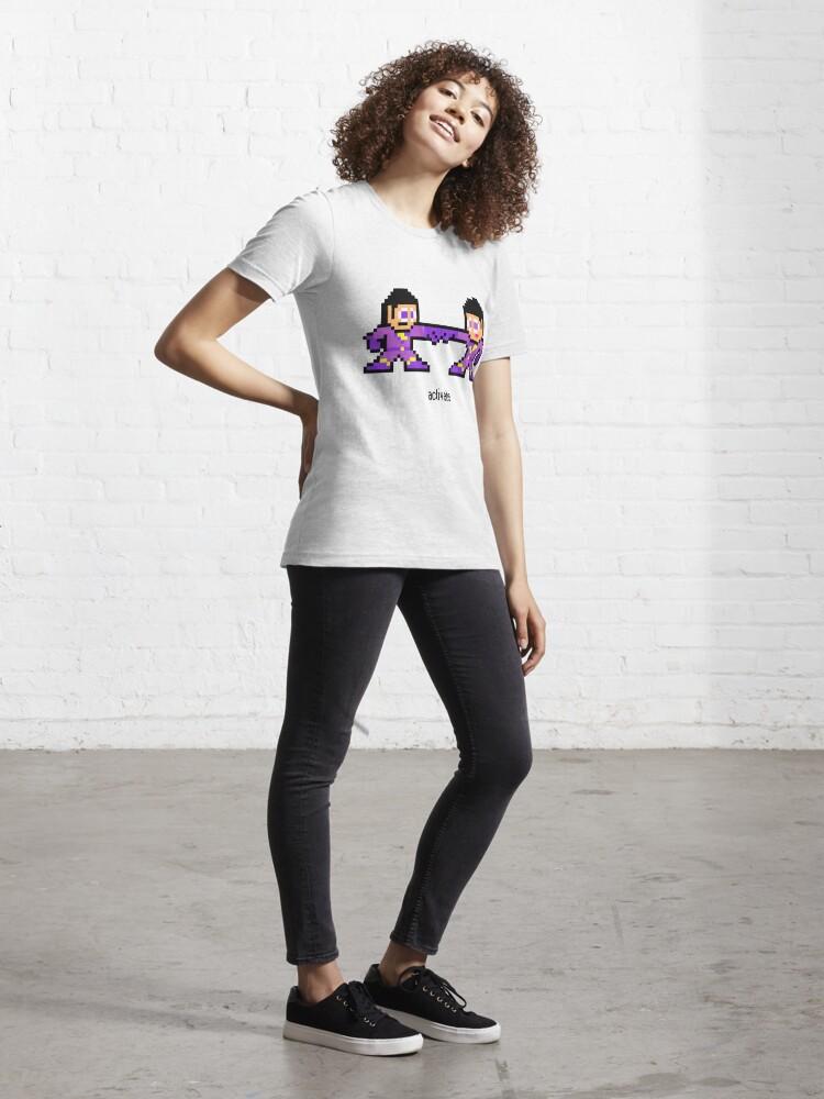 Alternate view of 8-bit Wonder Twins Essential T-Shirt