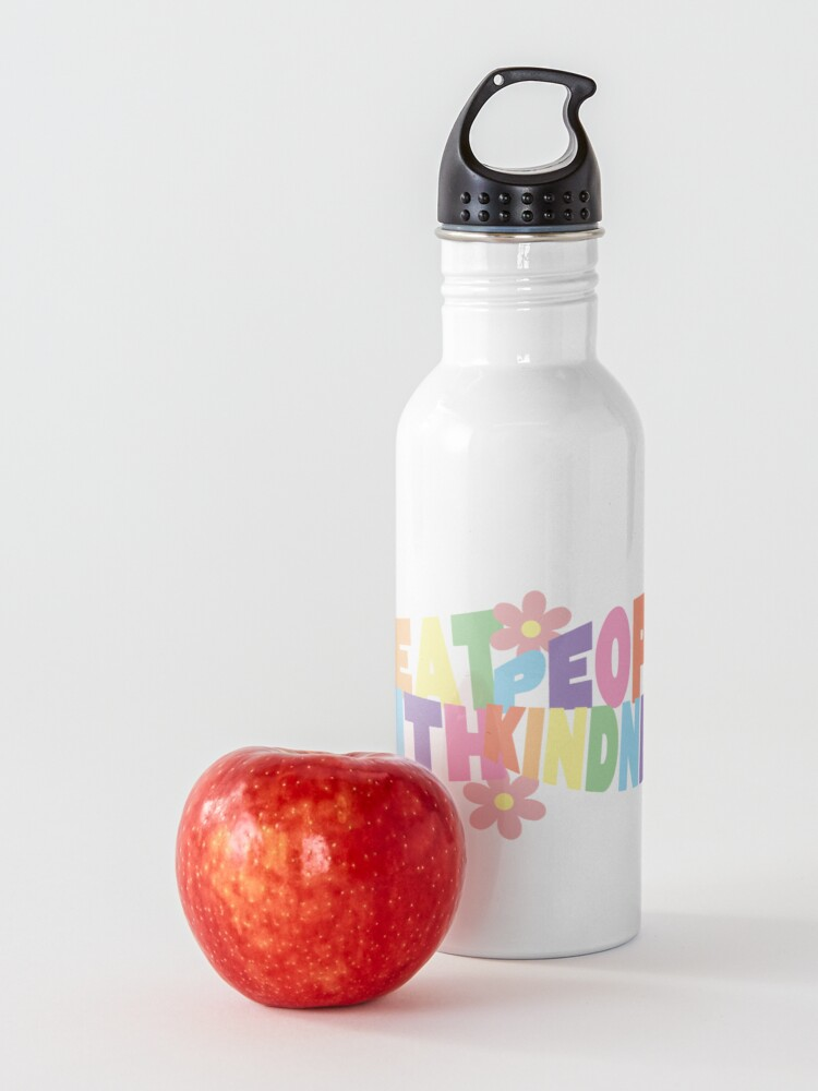 Alternate view of rainbow tpwk Water Bottle