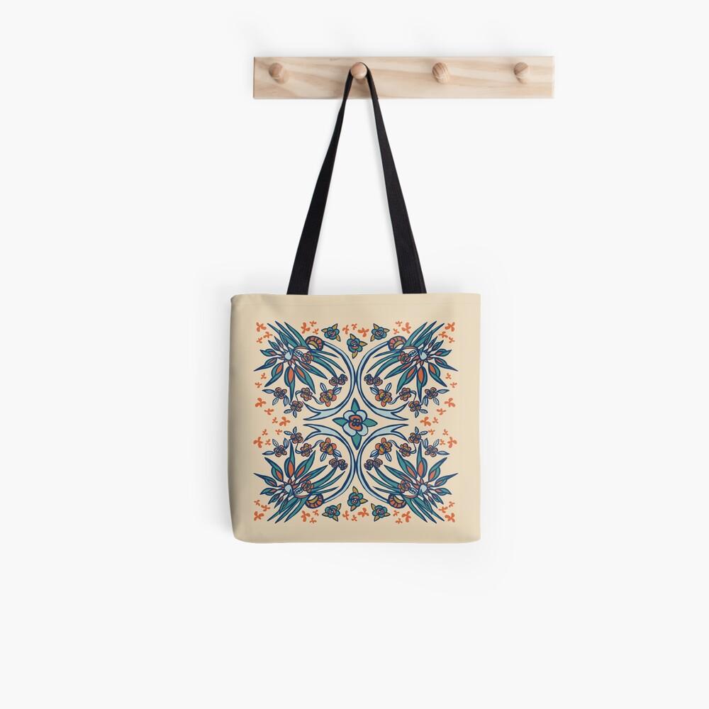 Blue Ridge Paradise Flower Tote Bag