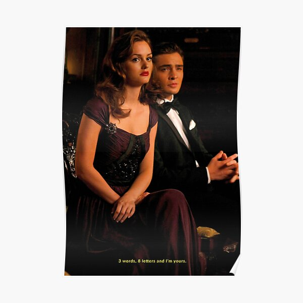 Chatty girl chuck and blair Poster