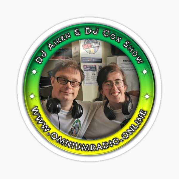 DJ Aiken Show & Coxs Show Sticker