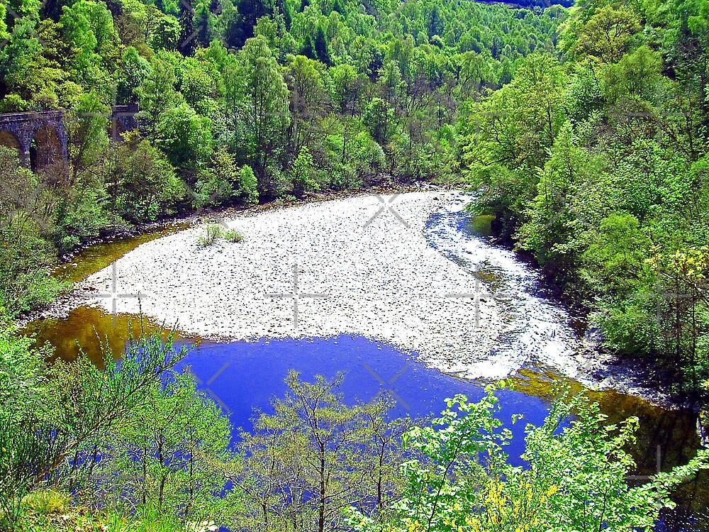 The River Garry at Killiecrankie by Tom Gomez