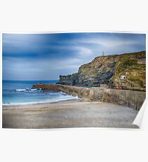Portreath before the Storms Poster