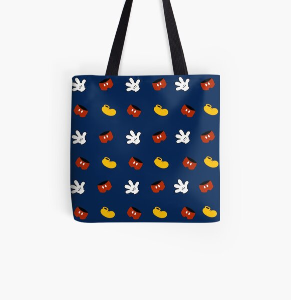 Mouse Pattern All Over Print Tote Bag