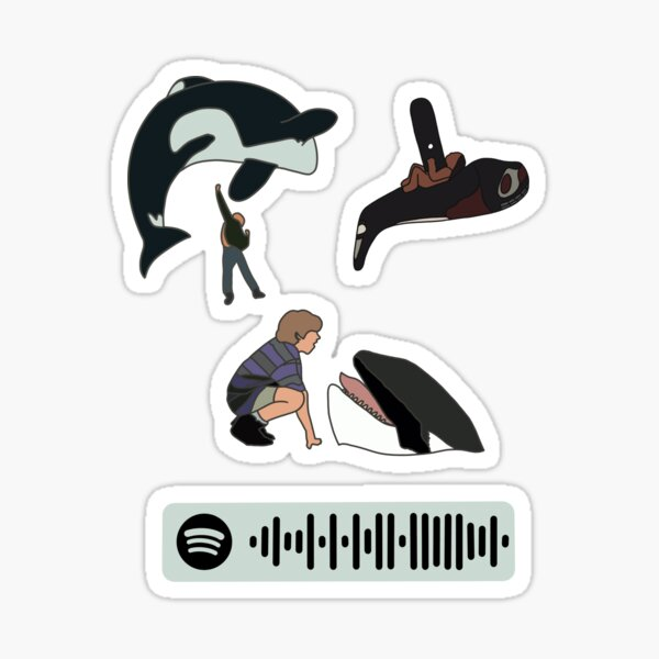 Free Willy Pack Sticker
