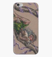 Tattooed Tree Elf - Just Hanging Around iPhone Case