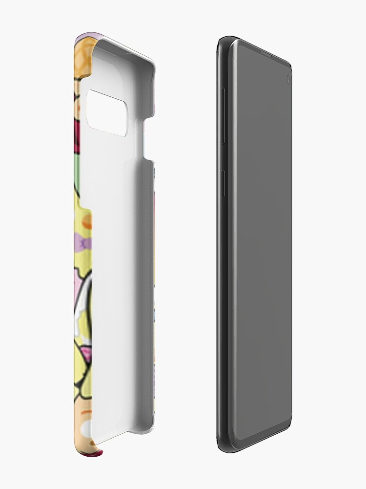 Alternate view of cute art of moriah elizabeth Case & Skin for Samsung Galaxy