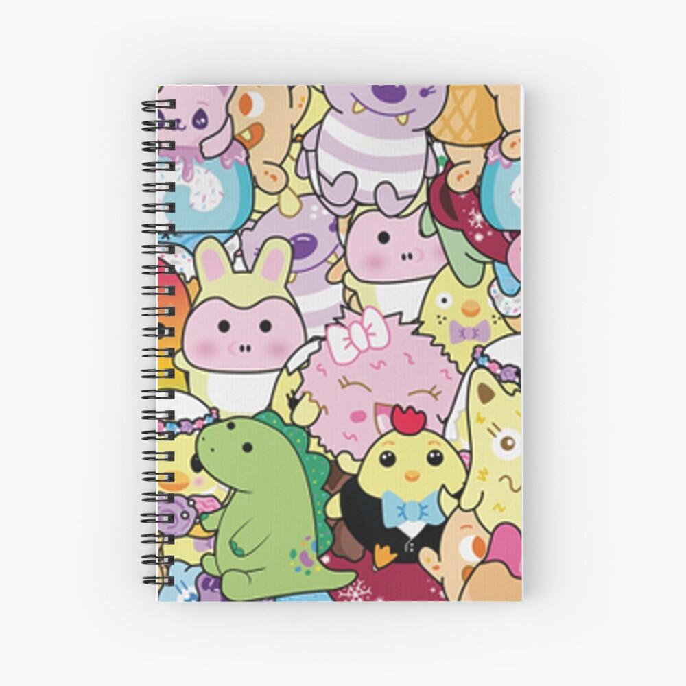 Cute Art Of Moriah Elizabeth Spiral Notebook