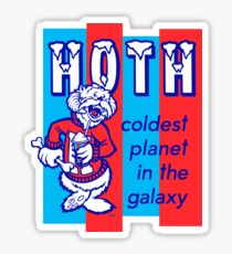 HOTH: COLDEST IN THE GALAXY Sticker