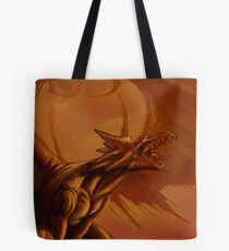 Screaming Dragon by William Kenney Tote Bag