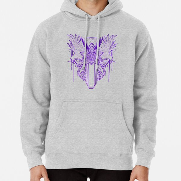 Lilac and Gooseberries Pullover Hoodie