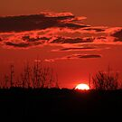 Sunset over Troopers Hill by Jonathan Gazeley