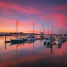 Yacht Reflections by Kyle  Rodgers