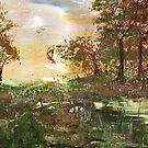 Autumn Trees by Catherine Price