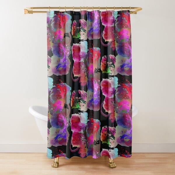 Abstract Art Design- Hot Mess Shower Curtain