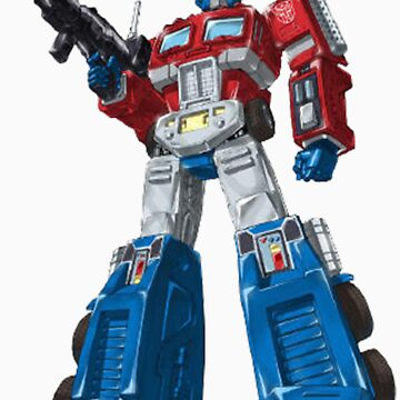 optimus prime by chipper96