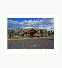 Flagg Ranch Resort Art Print