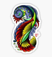 Bioswirlybird Sticker