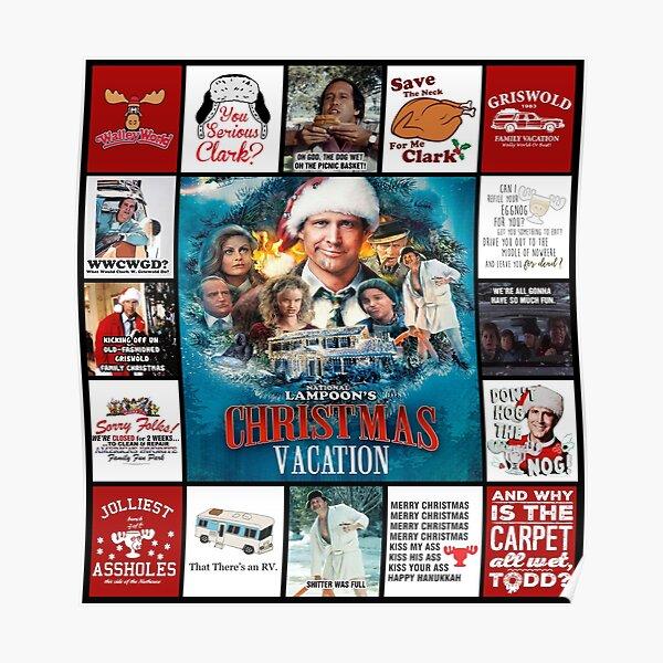 National Lampoon Christmas Vacation Poster