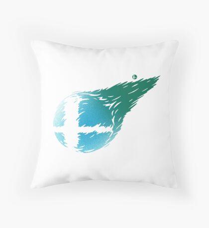 CLOUD SMASH Throw Pillow