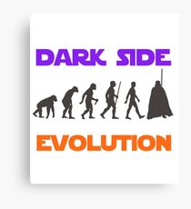 Dark Side Evolution Canvas Print
