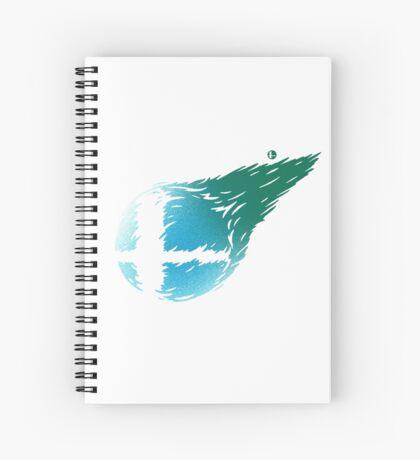CLOUD SMASH Spiral Notebook