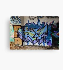 Classic Graffiti - Canvas Print
