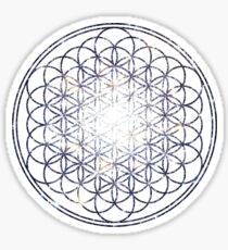 Flower Of Life - Sacred Geometry Star Cluster Sticker