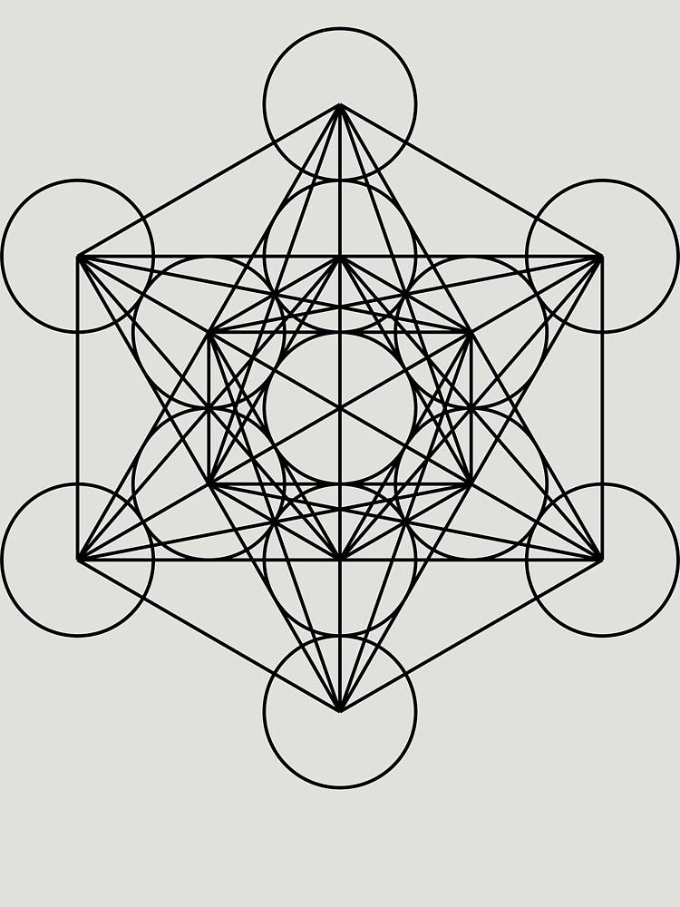 Metatron's Cube - Sacred Geometry by SirDouglasFresh