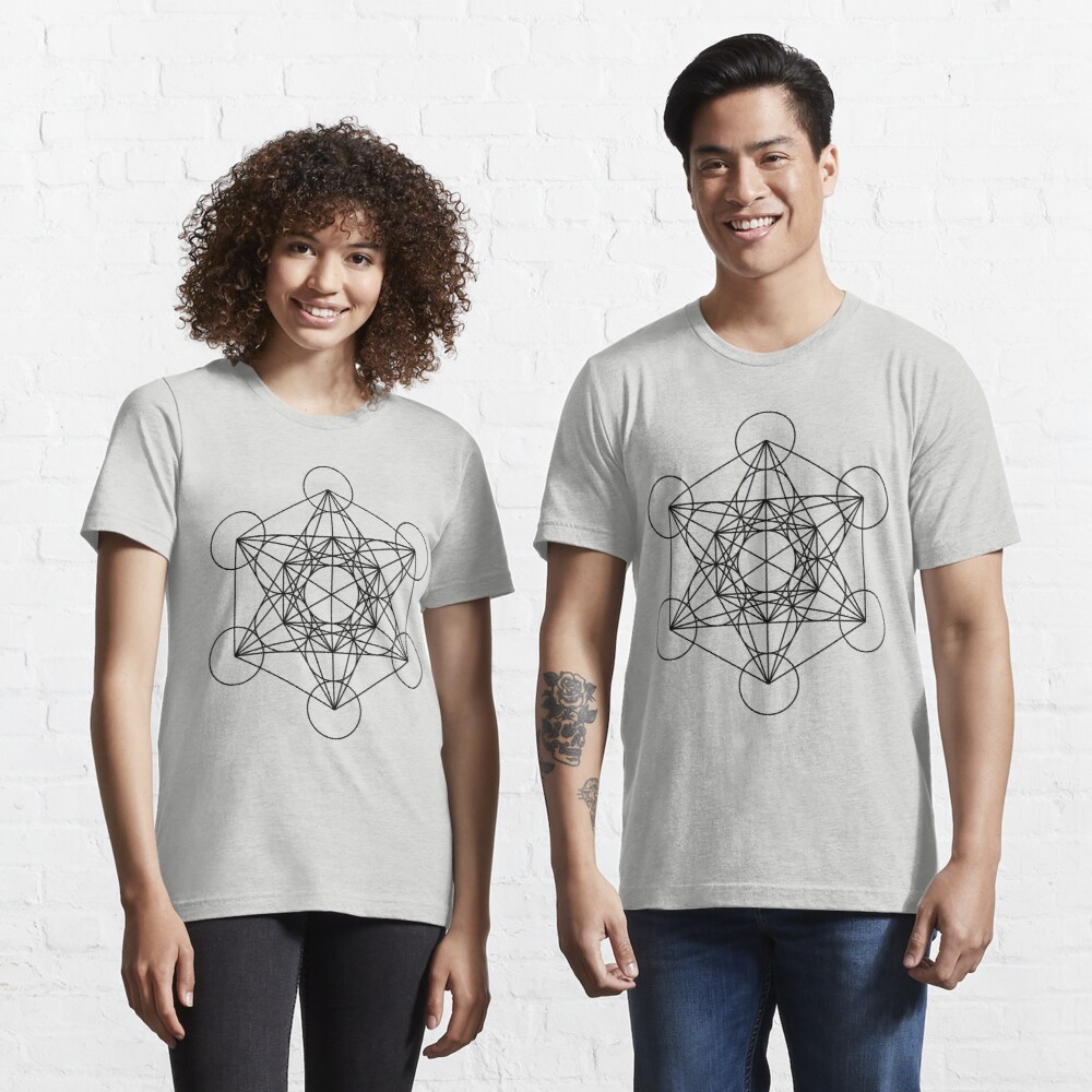 Metatron's Cube - Sacred Geometry Essential T-Shirt