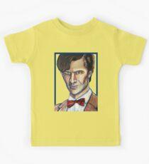 Matt Smith Doctor Who Van Gogh Kids Tee