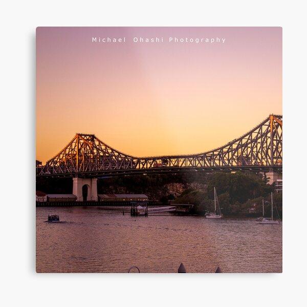 Story Bridge Metal Print