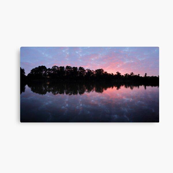 Murray River Sunrise.   Canvas Print