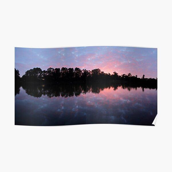 Murray River Sunrise.   Poster