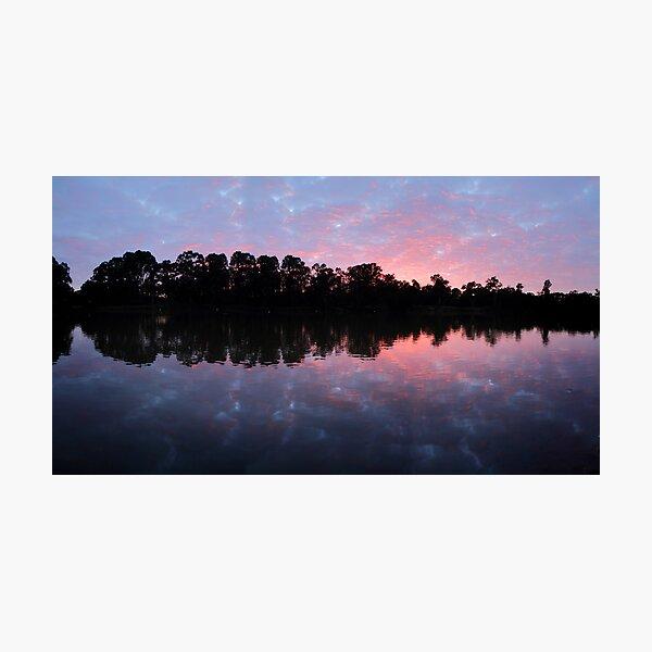Murray River Sunrise.   Photographic Print