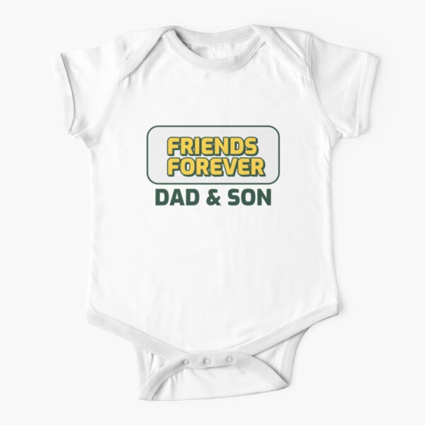 Dad And Son Shirt Short Sleeve Baby One-Piece