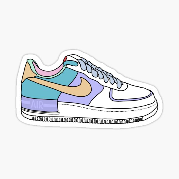 Air Force 1 Sticker