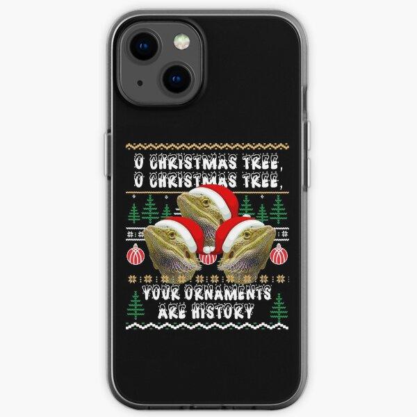Bearded Dragon Christmas iPhone Soft Case