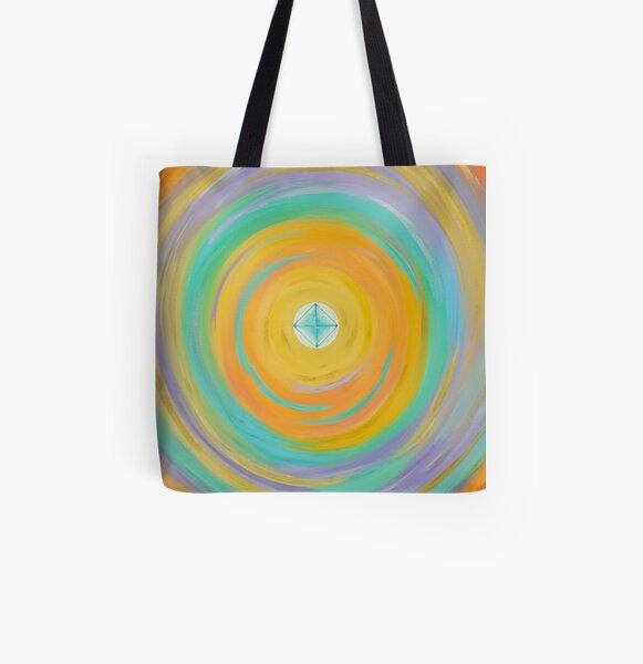 Diamond Bright All Over Print Tote Bag