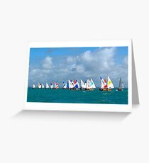 They're Off! Greeting Card
