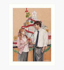 Secret Santa Art Print
