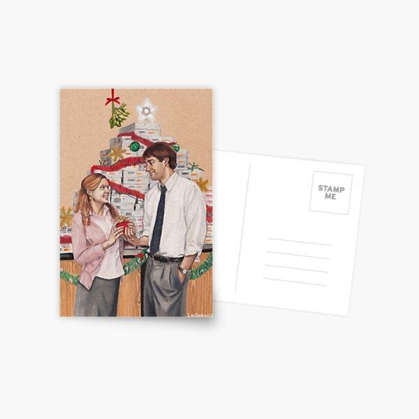 Secret Santa Postcard