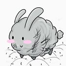 Dust Bunny! [Apparel and Transparent Stickers] von charsheee