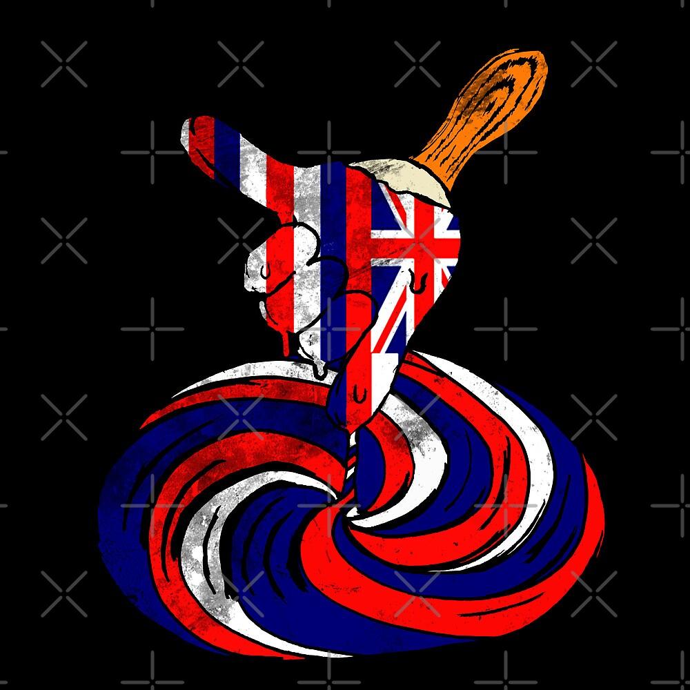 Frozen Shaka Pop (State Flag Version) by giovonni808