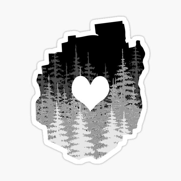 I Love the Adirondacks Sticker