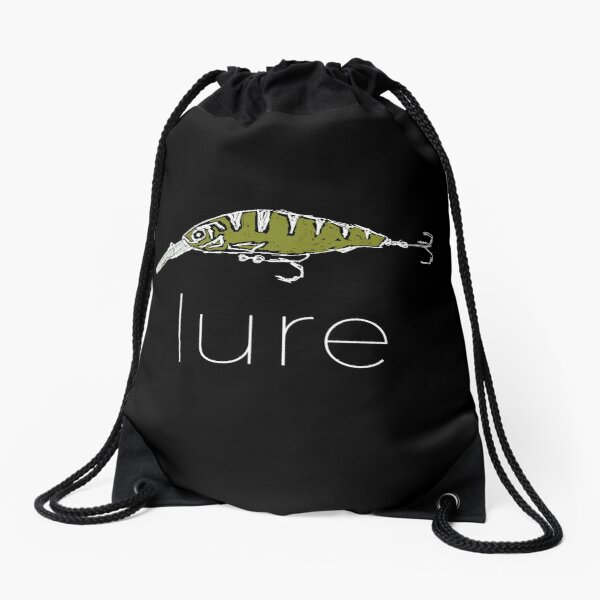 Fishing Lure Drawstring Bag